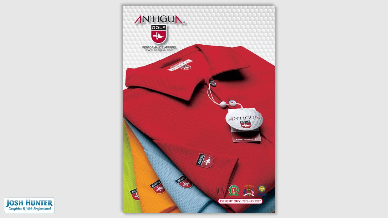 Magazine Ad Antigua Golf - PGA